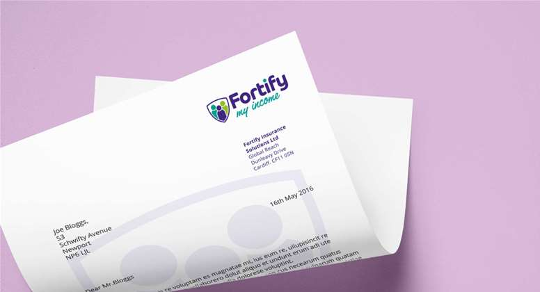 Fortify Insurance: New brand identity? We've got it covered